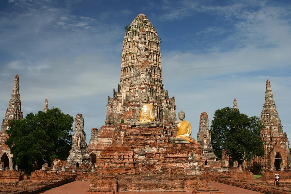 Free Wat Chai Watthanaram, Ayutthaya Historical Park