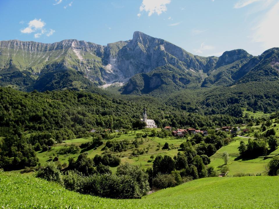 Free Landscape of Kobarid, Slovenia
