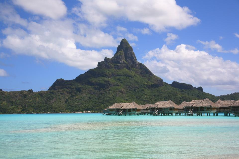 Free Island of Bora Bora, French Polynesia