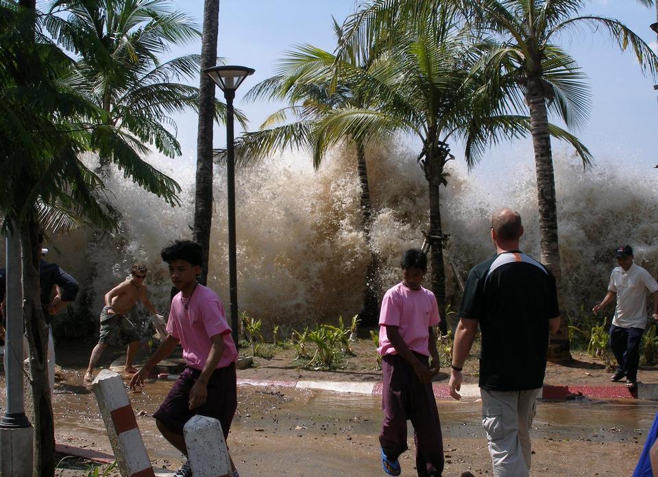 Free 2004 tsunami in Ao Nang, Krabi Province, Thailand