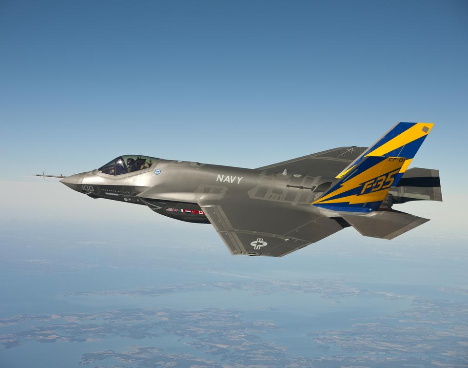 Free The U.S. Navy variant of the F-35 Joint Strike Fighter