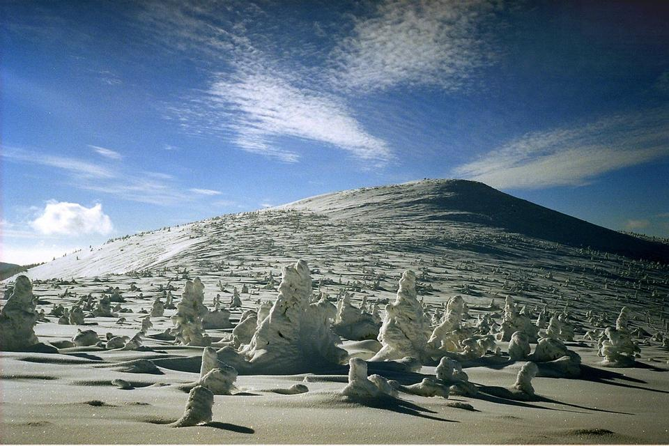 Free Karkonosze mountains in Poland