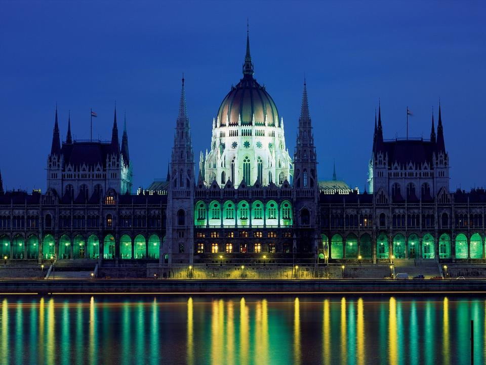 Free Parliament Palace, Budapest, Hungary
