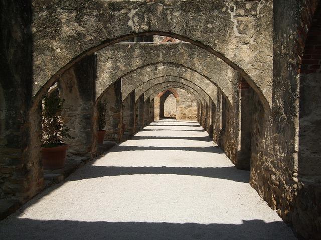 Free san antonio mission archway