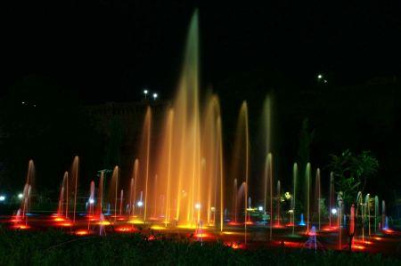 Free Brindavan Garden Mysore fountain