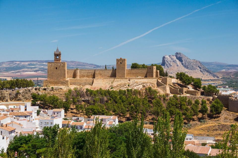 Free Alcazaba of Antequera, Andalusia, Spain