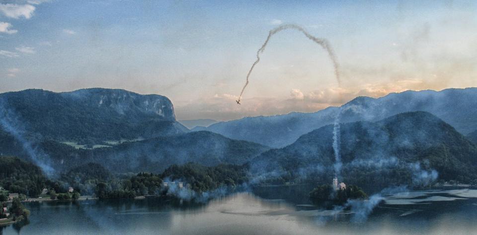 Free Bled Lake Slovenia Loop air show