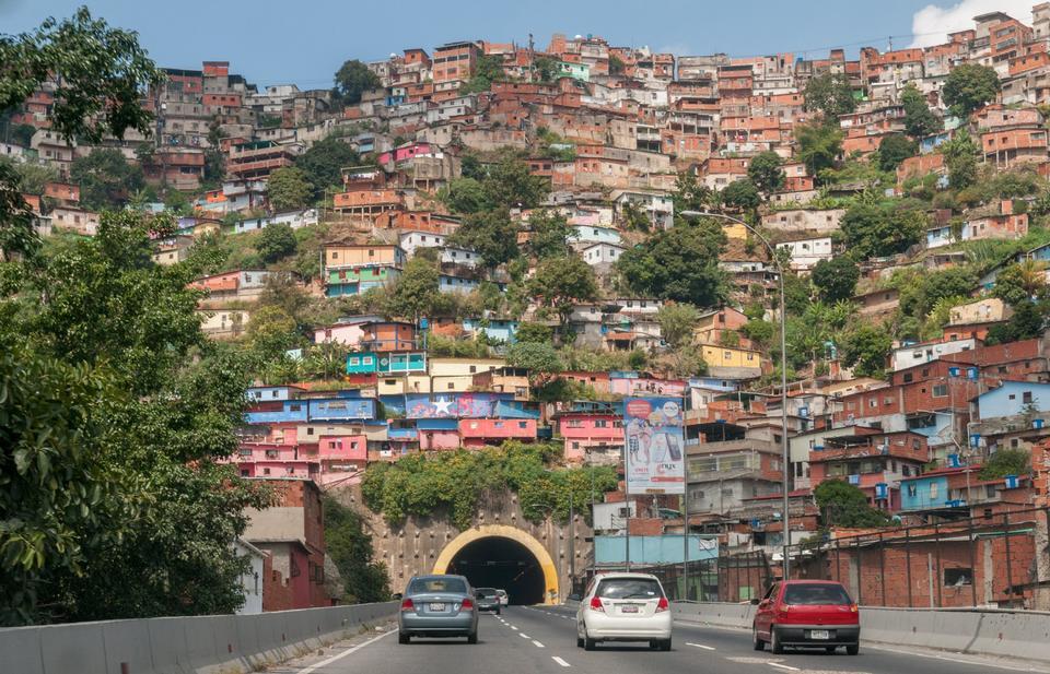 Free Photos: Slums in Caracas Venezuela | eurosnap