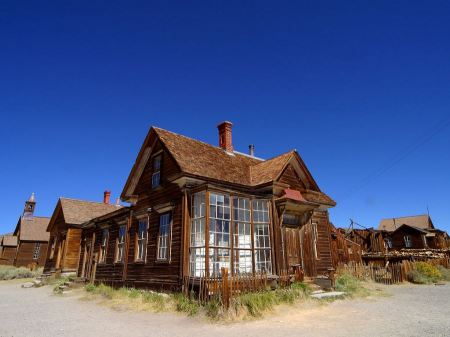 Free Bodie Ghost Town in California
