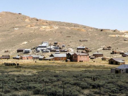 Free Bodie Town in California