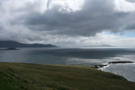 Free Clare Island viewed from Achill Ireland