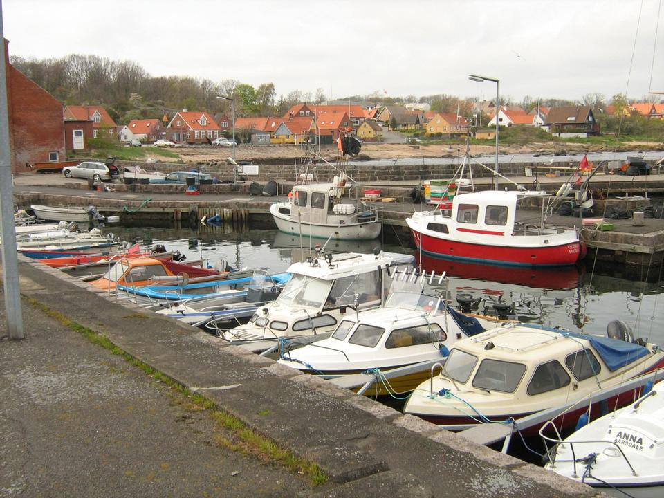 Free Aarsdale harbour, Bornholm, Denmark