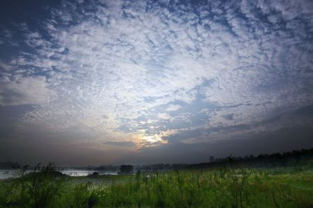 Free Dramatic Morning landscape
