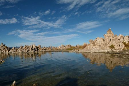 Free Mono Lake shallow saline soda lake in Mono County California