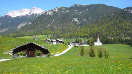 Free View of Guffert mountai in summer time, Germany