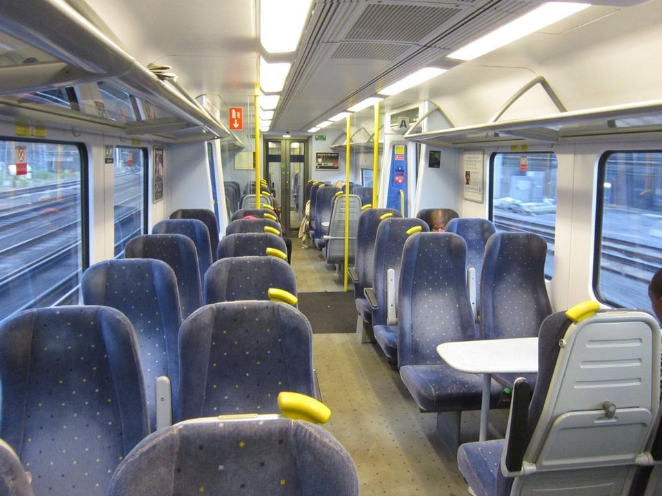 Free British Rail interior