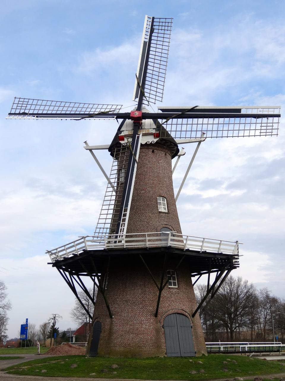 Free Medieval tower windmill