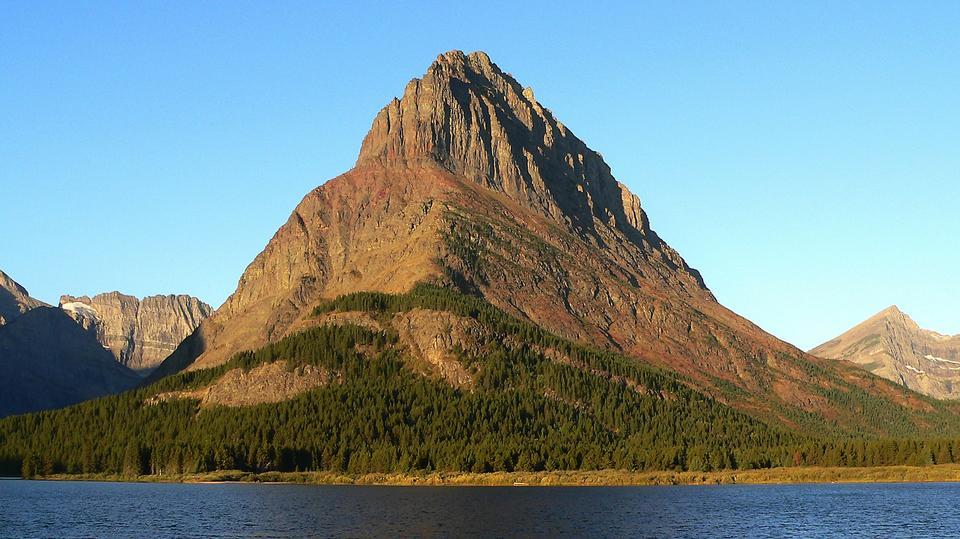 Free Wild goose island in Glacier national park