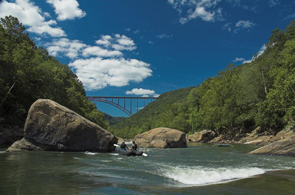 Free New River Gorge Bridge at Fayette Station