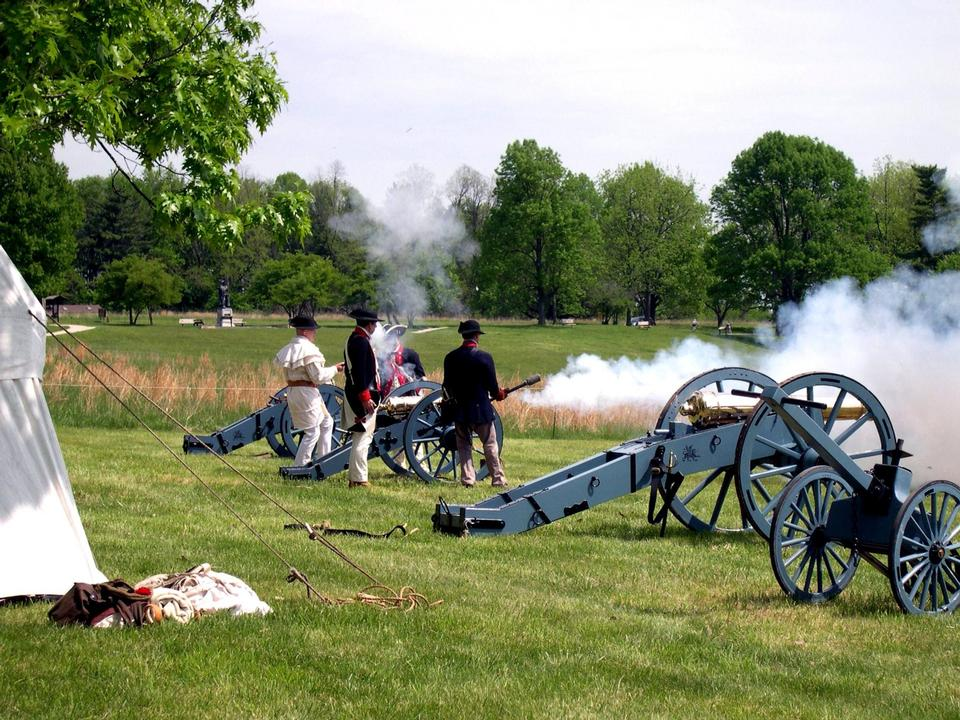 Free Artillery Firing - French Alliance Day