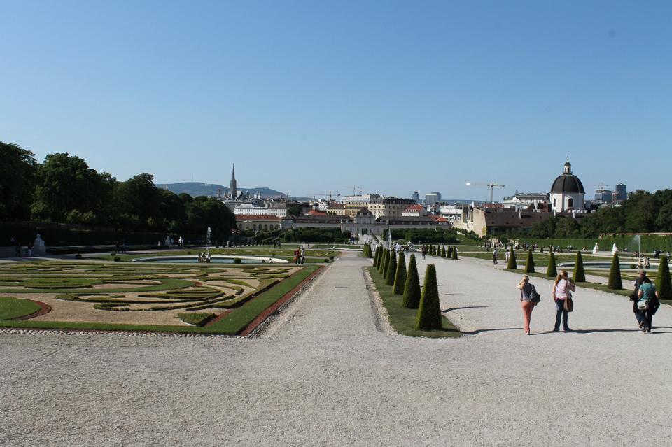 Free Park in Belvedere, Vienna