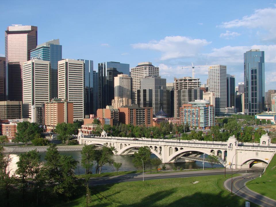 Free Cityscape of Calgary Canada