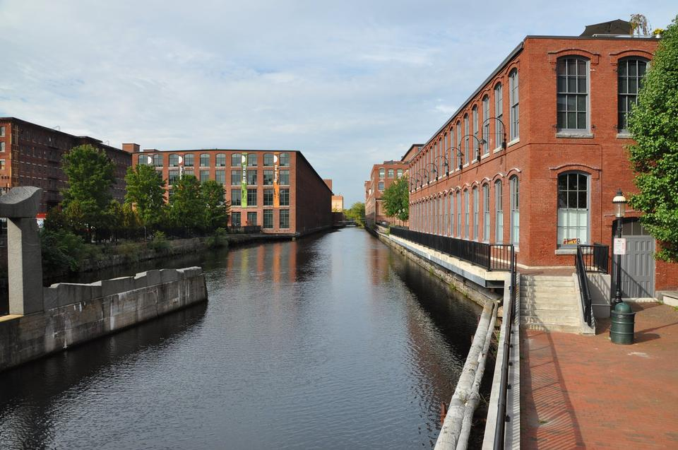 Free Industrial Canal on the Pawtucket Canal