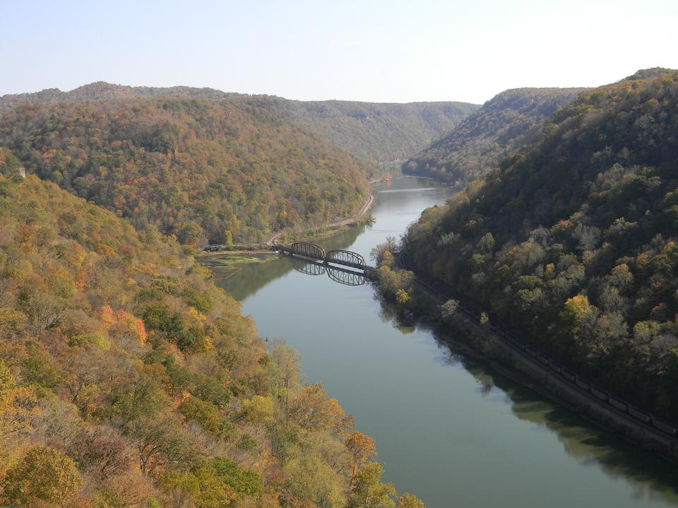 Free New River Hawks Nest State Park in West Virginia