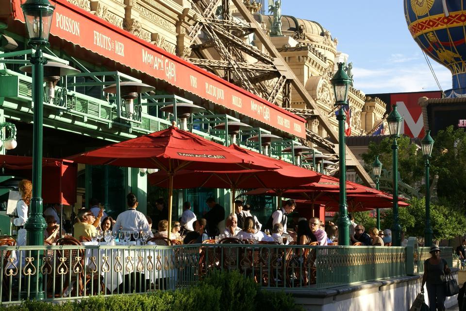 Free Bistro at the Paris Hotel in Las Vegas, Nevada