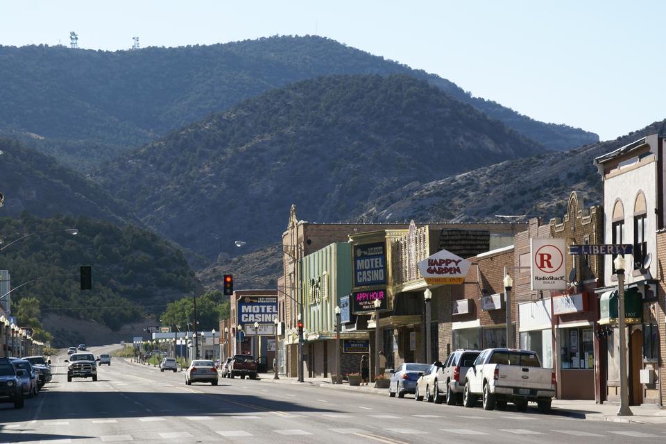 Free Aultman Street in Ely, Nevada