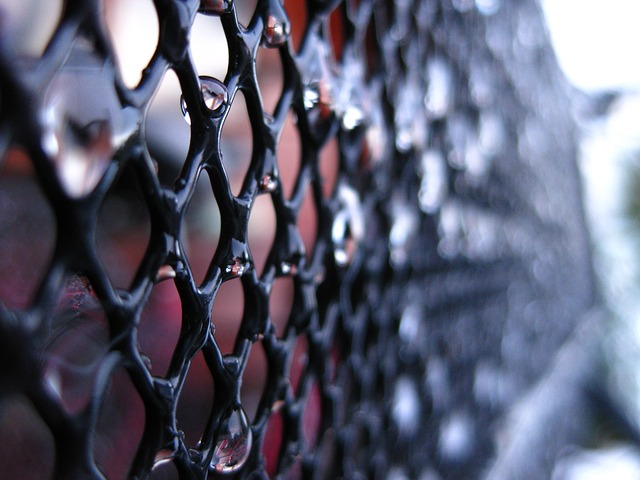 Free drip frozen grid black background