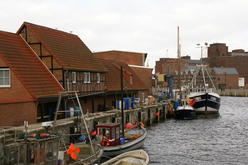 Free Old Timber Port in Wismar, Germany