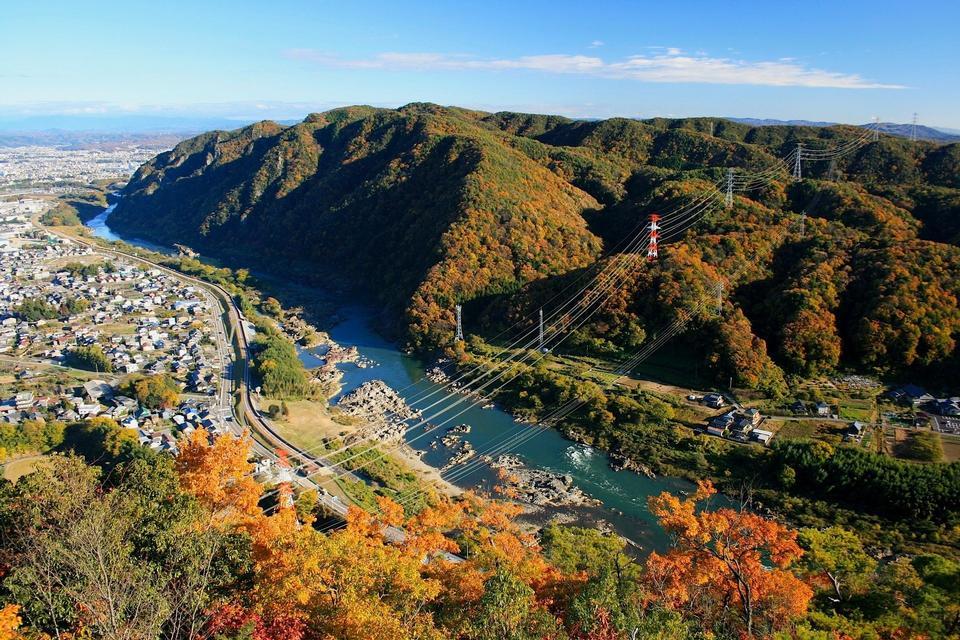 Free Hot springs town Hokkaido, Japan