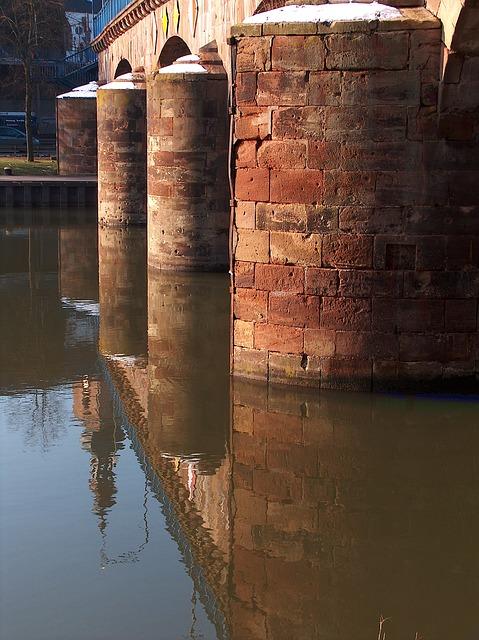 Free saarbrueken germany bridge stone architecture old