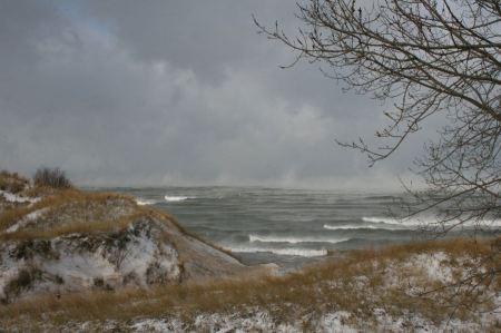 Free Winter Waves at Lake View