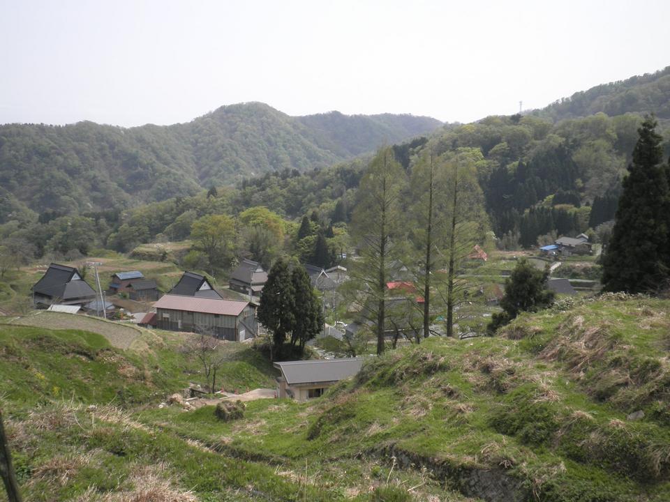 Free Panoramic view of the village Miyazu Kamiseya Kyoto