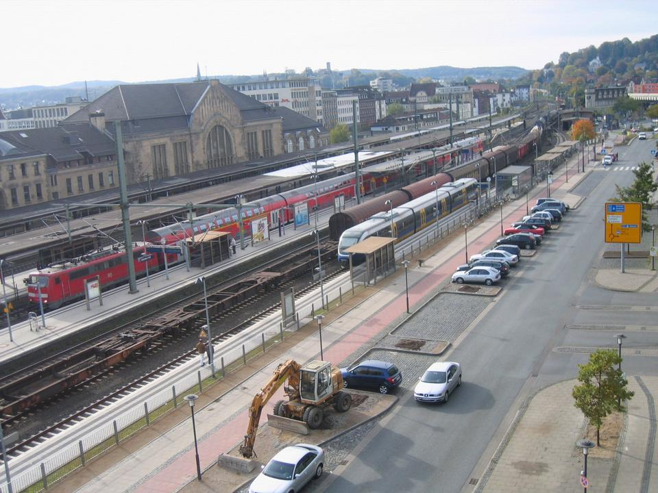 Free Main station in Bielefeld, North Rhine-Westphalia, Germany