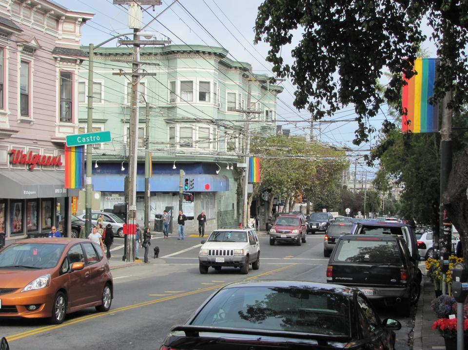 Free Castro Street, San Francisco