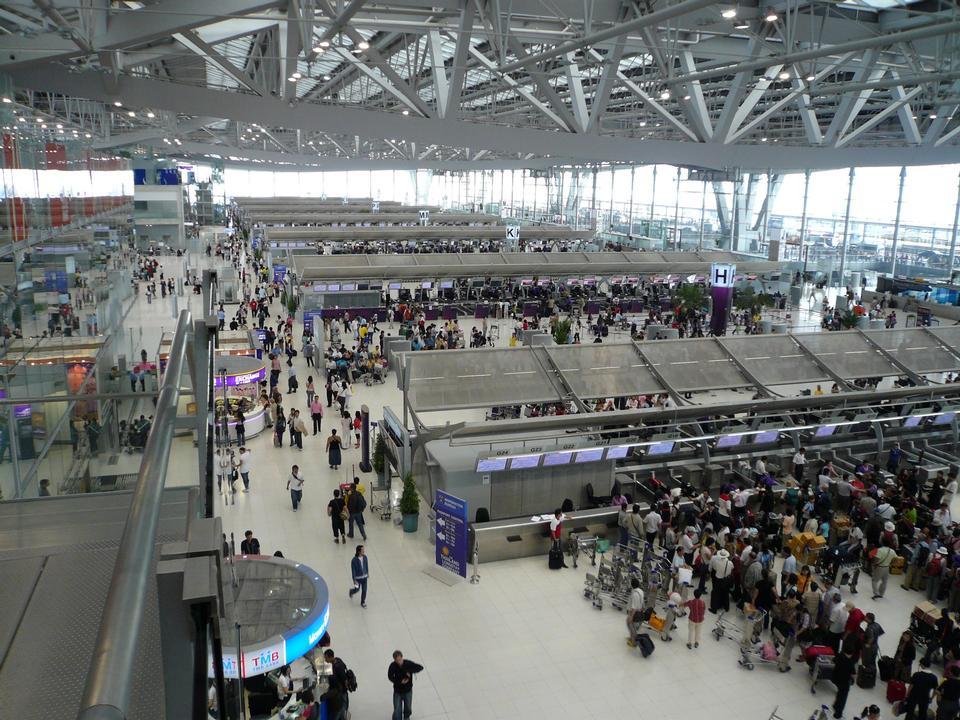 Free Suvarnabhumi International Airport Bangkok