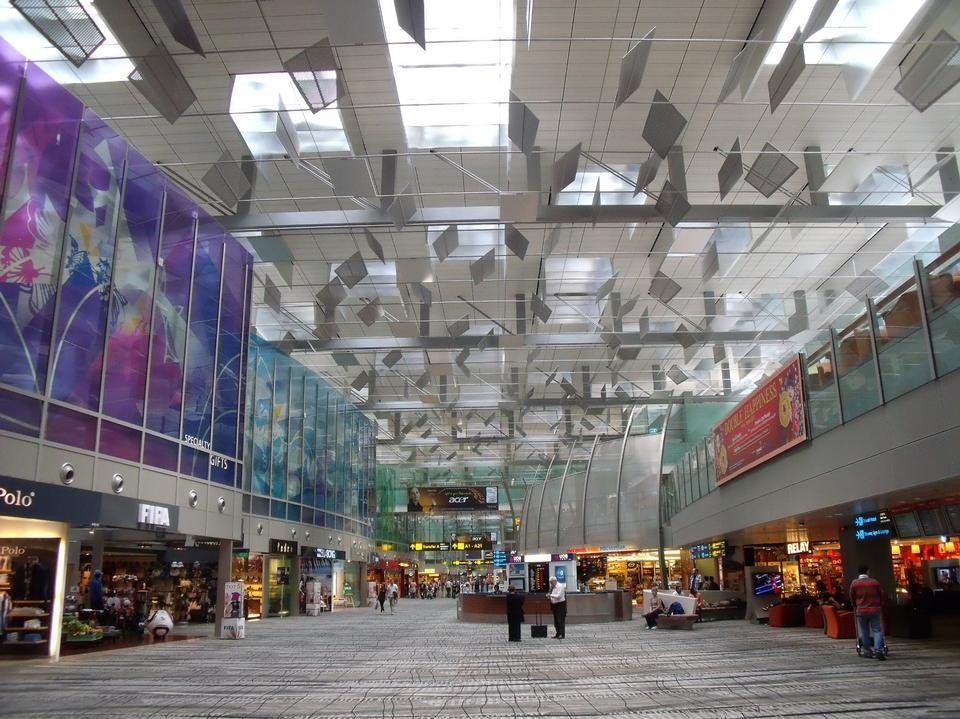 Free Transit area, Changi Airport, Singapore