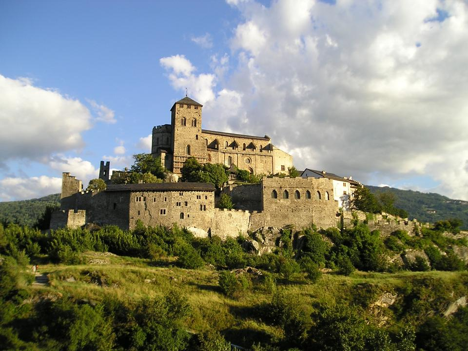 Free Valère Castle in Sion, Switzerland