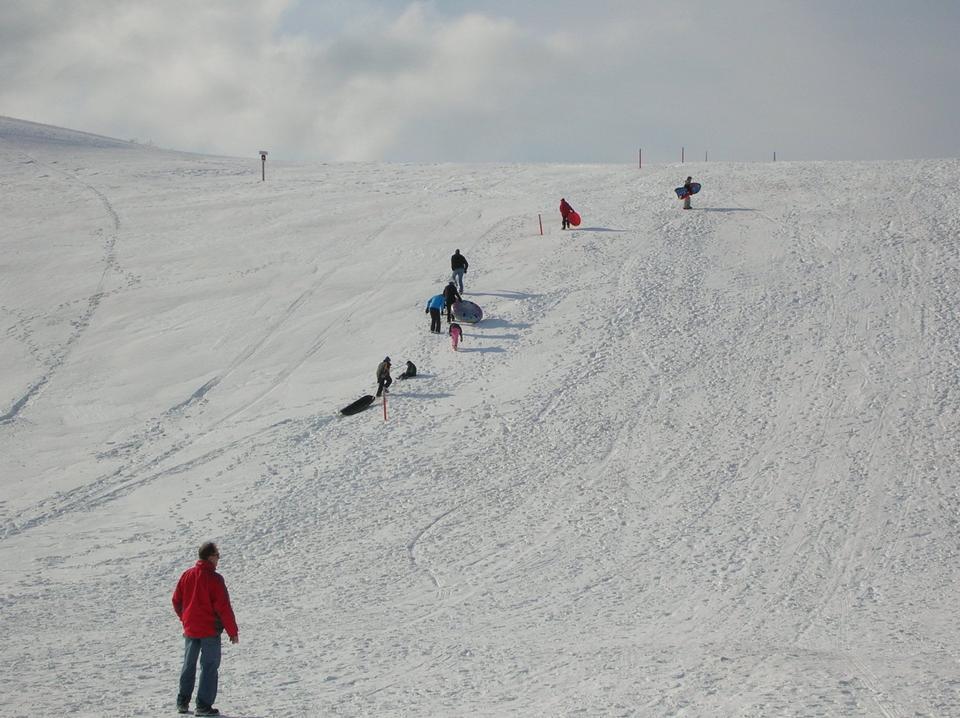 Free Climbing the Sledding Hill