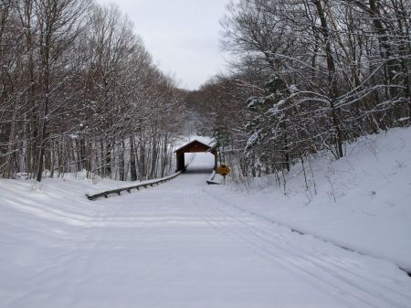 Free Covered Bridge on Pierce Stocking Drive