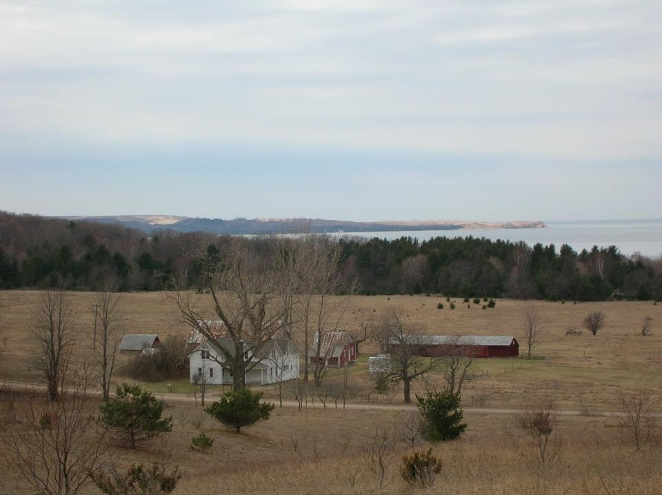 Free Landscape of Thoreson farm from the Bay View Trail