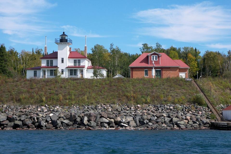Free Raspberry Island Lighthouse