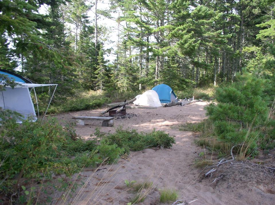 Free Camping on Outer Island