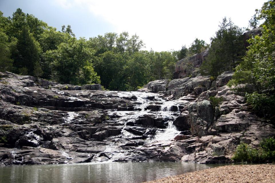 Free Rocky Falls on Rocky Creek