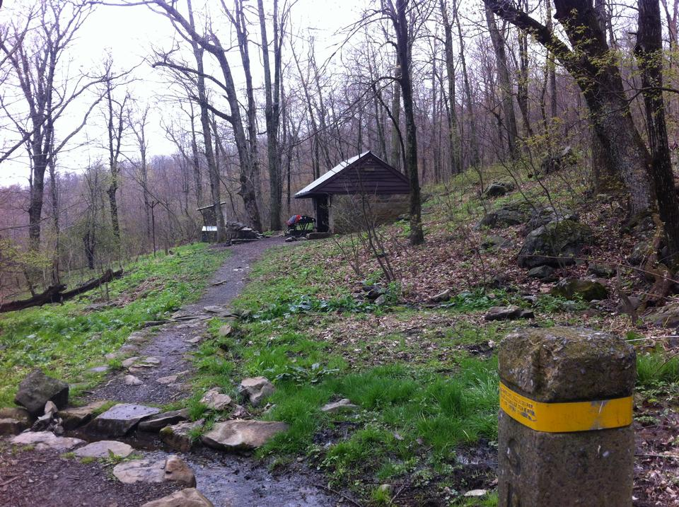 Free Shelter in Shenandoah National Park