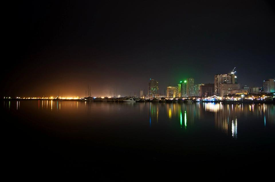 Free Landscape of Manila Bay from Harbour Square