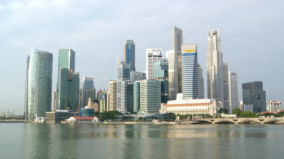 Free Singapore Skyscrapers